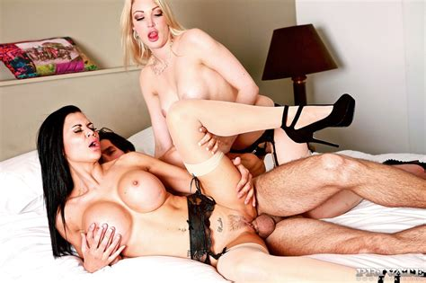 man is caught with the maid and his curious wife decided to join to them youx xxx
