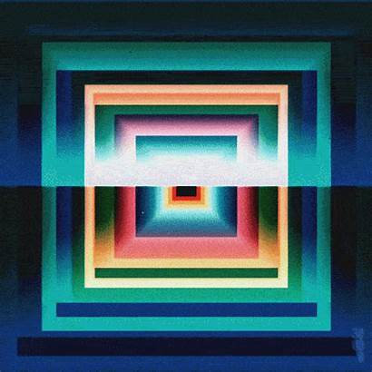 Square Loop Prism Gifs Field Animated Squares