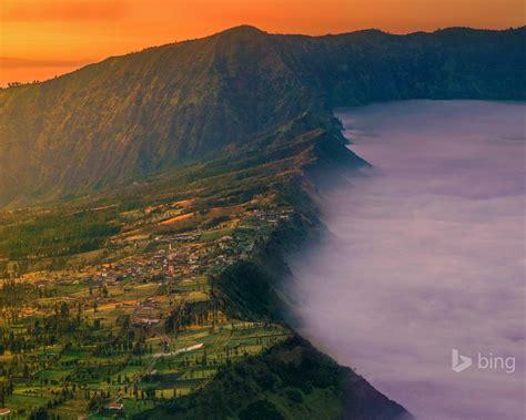 indonesia mount village bing desktop wallpaper preview