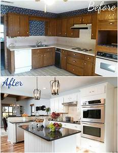Fixer Upper Küche : fixer upper kitchen makeover home improvement pinterest vorher nachher bauernhaus und ~ Markanthonyermac.com Haus und Dekorationen