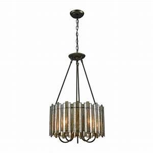 Lineage light oil rubbed bronze chandelier tn