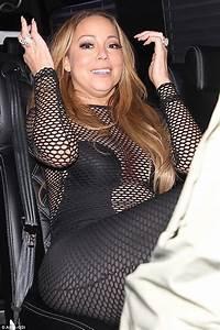Mariah Carey Stumbles Out Of 1OAK Nightclub In Los Angeles