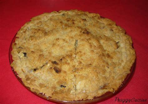 marmitons recettes cuisine tarte française aux pommes et aux raisins secs