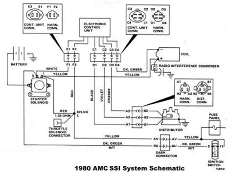 1974 Cj5 Wiring Diagram by Jeep Cj 7 Alternator Wiring Diagram Wiring