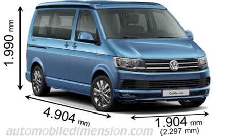 Abmessungen Der Volkswagenautos Mit Länge, Breite Und Höhe