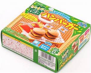 Hamburger Popin' Cookin' kit DIY candy by Kracie, DIY Sets ...