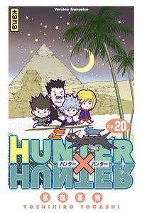 2871297819 hunter x hunter tome hunter x hunter tome 20 yoshihiro togashi babelio