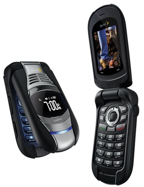 Sanyo Mobile by Sprint Kyocera Sanyo Taho Ruggedized Water Resistant