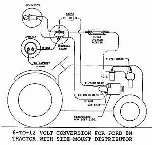 Ford 8n Wiring Diagram 12 Volt : unable to get spark to the plugs no voltage form coil to ~ A.2002-acura-tl-radio.info Haus und Dekorationen