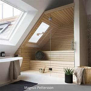 Sauna Für Badezimmer : sauna im badezimmer dachgeschosse badezimmer und wohnen ~ Lizthompson.info Haus und Dekorationen