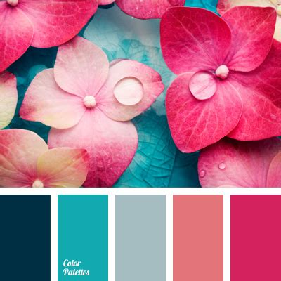 Bright Turquoise  Color Palette Ideas