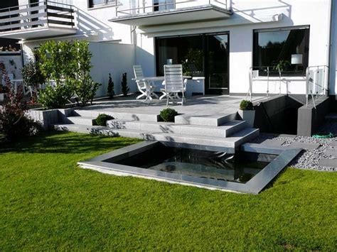 Gartengestaltung Bilder Moderngarten Terrasse Modern
