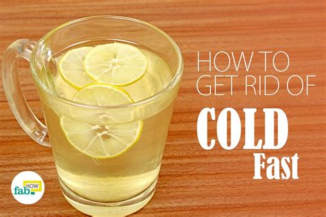 rid   cold superfast  home remedies