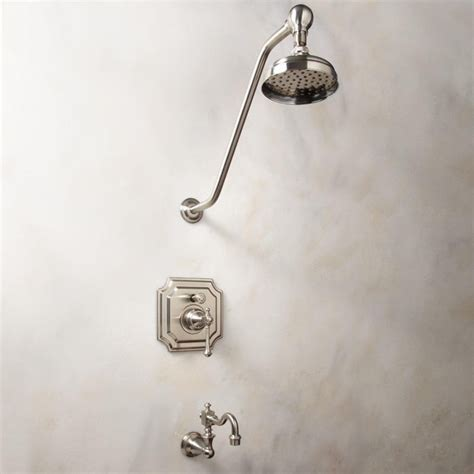 Shower Faucet Sets by Vintage Pressure Balance Tub And Shower Faucet Set With