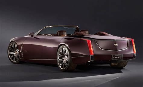 2019-2020 Cadillac Ciel Convertible Rear View