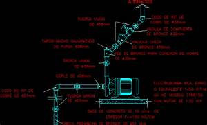 Pumps And Electrical Controls Dwg Detail For Autocad