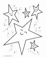 Coloring Pages Star Preschoolers Preschool Popular sketch template