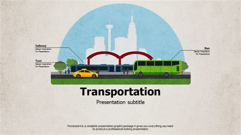transportation  template wide goodpello