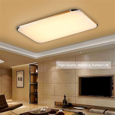 48w Flush Mount Led Pendant Light Ceiling Lamp Bedroom