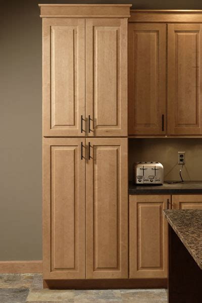 Pantry Cabinet  Tall Kitchen Pantry With Pullout Shelves