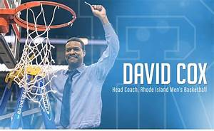 David Cox named next Head Coach of URI's Men's Basketball ...