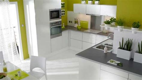 la cuisine decoration cuisine mur photo decoration cuisine mur vert