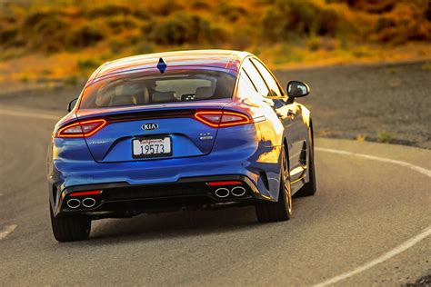 Kia Stinger Gt Reports For Highway Patrol Duty In
