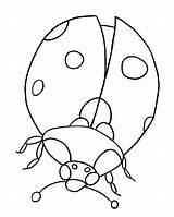 Coloring Bug Lady Pages Printable sketch template