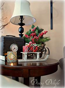 Dining, Delight, Christmas, Decor, For, End, Tables