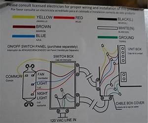 Hampton Bay Ventilation Fan Wiring