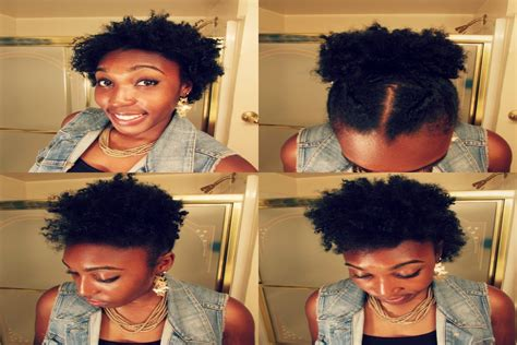 short  medium hairstyles cute natural hair styles
