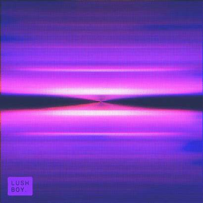 Neon Abstract Visuals Relaxing Lush Vaporwave Gifs