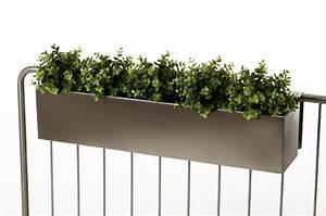 Blumenkasten Für Geländer : blumenkasten balkonkasten binox aus v2a edelstahl 80 cm geb rstet ~ Frokenaadalensverden.com Haus und Dekorationen