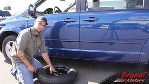Changing The Tire On Dodge Grand Caravan  Chrysler Town