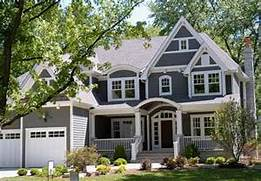 Amherst Gray Benjamin Moore Amherst Gray Exterior Paint Color Home Eclectic Two Storey House Neutral Color Scheme Story House Color Color More Blue Exterior Paint Ideas Home Exterior Exterior House Eclectic Two Storey House Neutral Color Scheme Color Combinations