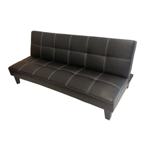 leather click clack sofa bed click clack pu leather sofa bed sydney bed