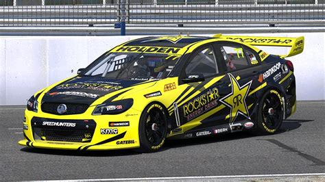 rockstar energy holden v8 supercar by andrew osiris trading paints