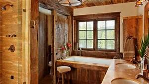 Image of: Rustic Country Style Interior Design Idea Youtube Rustic Interior Design For The Living Room