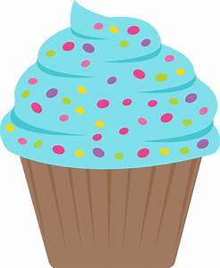 Vanilla Cupcake clipart candyland - Pencil and in color ...