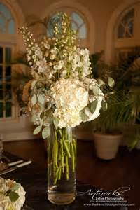 White Tall Flower Arrangements