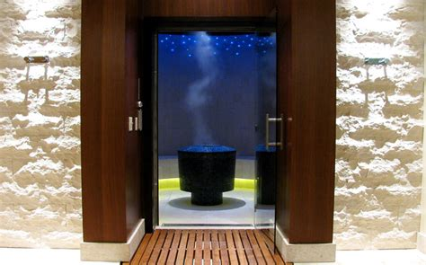 custom commercial steam room design construction