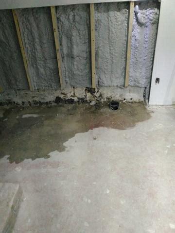Basement Waterproofing  Leaking Block Wall In Bracebridge