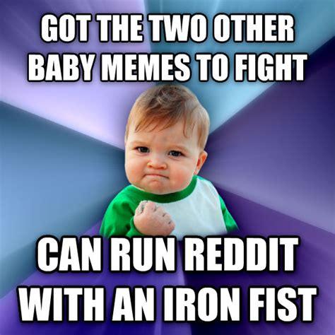 Running Baby Meme - livememe com success kid