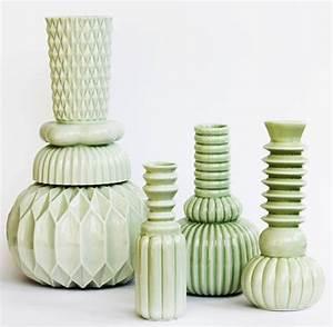 Ton Keramik Unterschied : vase samsurium honkadonka green turquoise 1 ceramics pinterest keramik porzellan und ideen ~ Markanthonyermac.com Haus und Dekorationen
