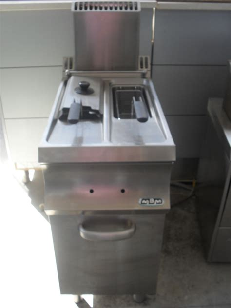 Friggitrice A Gas 2 Vasche by Usato Sicuro Pac Service