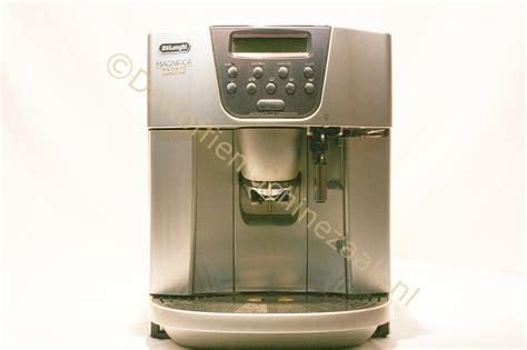 Koffiemachine Delonghi Reparatie de koffiemachinezaak delonghi magnifica pronto cappuccino