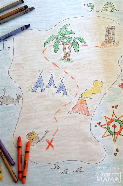 treasure map  kids   inspired mama