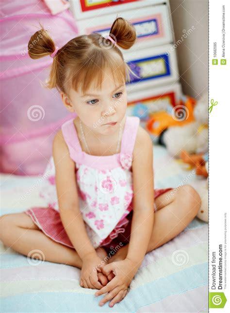 Playful Little Girl Royalty Free Stock Photo - Image: 10682085
