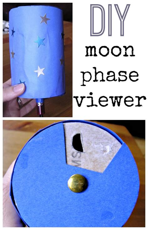 make a moon phase viewer 659 | diy moon phase viewer