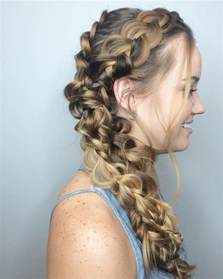 HD wallpapers prom hairstyles with loose curls